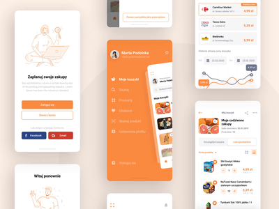 e-commerce mobile application mobile design iphone app iphone mobile app ios design ui design ux ui ecommerce app mobile figma