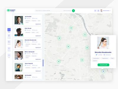 Find m8 dashboard webdesign list users profiles ui photoshop panel design find mate map dashboard