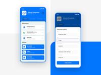 Call app - blue