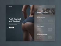 Fitness UI Card