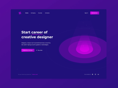Creative designer UI Animation