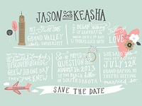 Finished Save the Date
