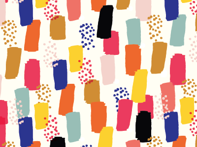 party pattern pattern illustration surface design graphic design art bright color stripes dots confetti