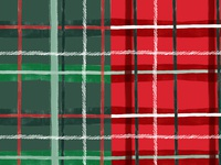 Green Plaid vs. Red Plaid
