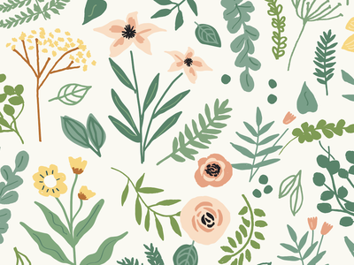 Botanical Floral florals surface art wedding botanical surface design illustration floral print print print and pattern pattern floral pattern floral art floral design floral