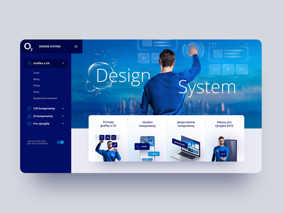 O2 - Design system o2 bubble design desktop website design system design system web websites webdesign web design website