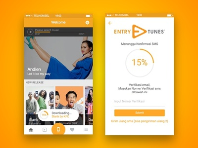 Entry Tunes App