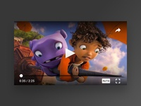 Player Vidio android app