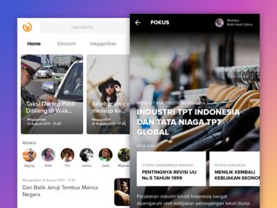 Valid News iOS Mobile App
