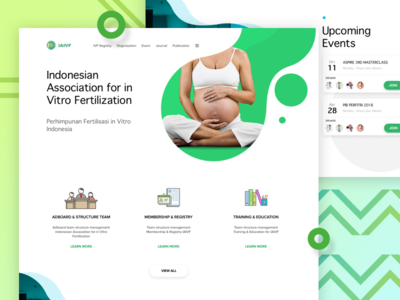 Iaivf - Web Design