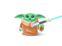 Baby Yoda Valentine card valentines day valentine mandalorian jedi lightsaber star wars baby yoda yoda