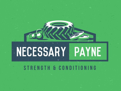 Gym Logo more progress