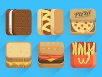 More Food Icons (.ai attached)