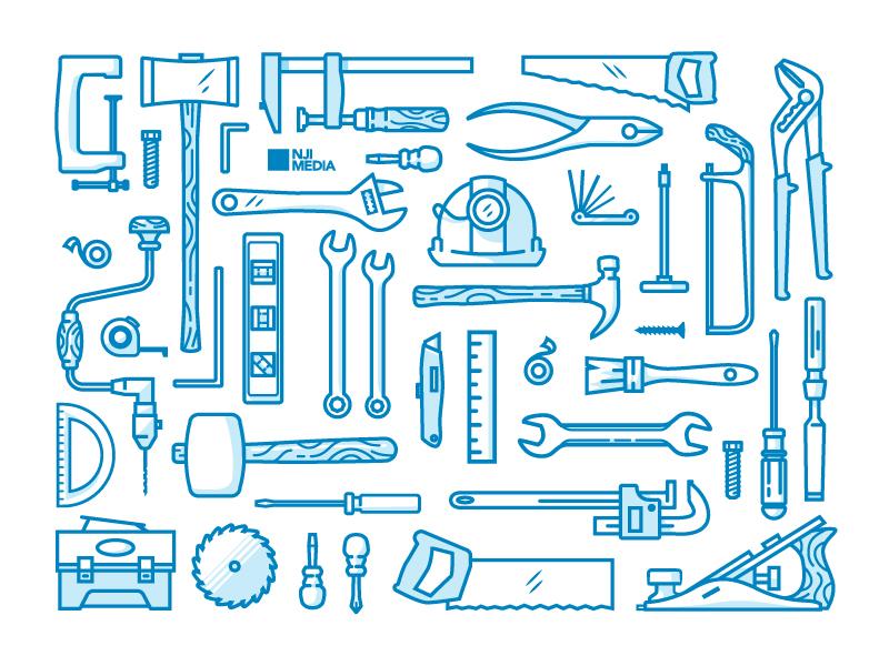 Tool Illustrations/Icons