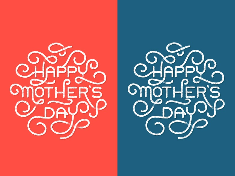 FREE Mother's Day Card njimedia nji media mothers day card mothers type typography texture vector greeting card