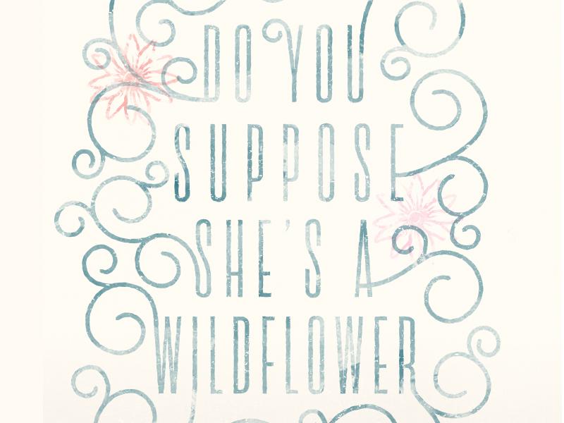 Alice in Wonderland Quote alice alice in wonderland typography watercolor vintage