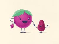 You did a grape job raisin me