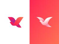 Bird logo2 dribbble