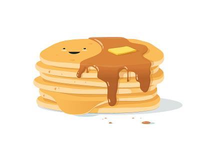 No one stacks up to you food pun birthday breakfast pancake pancakes