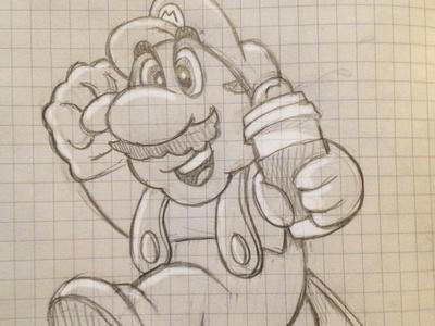Mario Coffee Power Up