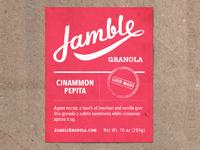 Jamble mockup