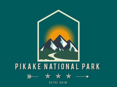Daily logo challenge #19 pikake logo park design national park pikake flat design adobe illustrator dailylogo. graphic design logodesignchallenge logodesign logo graphic dailylogochallenge