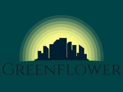 Daily logo challenge #21 city logo design greenflower city design city logo flat design adobe illustrator dailylogo. graphic design logodesignchallenge logodesign logo graphic dailylogochallenge