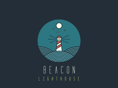 Daily logo challenge #30 lighthouse design lighthouse logo beacon lighthouse flat design adobe illustrator dailylogo. graphic design logodesignchallenge logodesign logo graphic dailylogochallenge