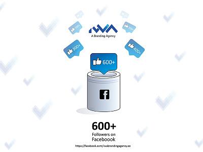 Facebook Followers Milestone thankyoudesign iwabrandingagency facebooklikes