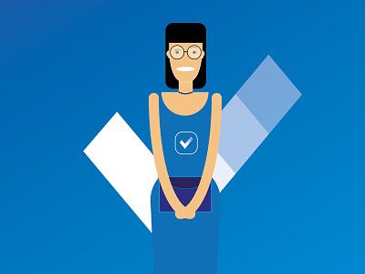 Branding Assistant vector branding assistant design branding illustration