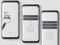 JOB Finder App | Getting Started