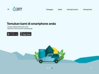 Landing page - Listrik Pintar