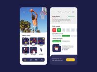 Mobile app - Sportplay