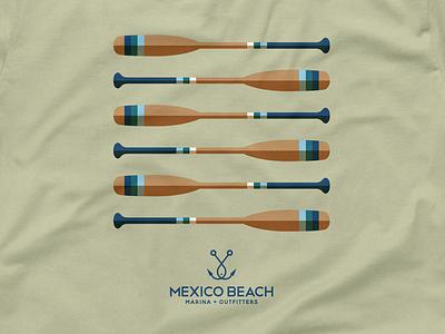 Mexico Beach T-Shirt Design monogram shirt beach tshirt logo
