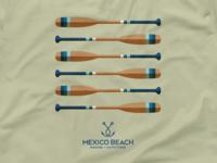 Mexico Beach T-Shirt Design