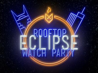 Eclipse foxfuel nashville neon watch party eclipse