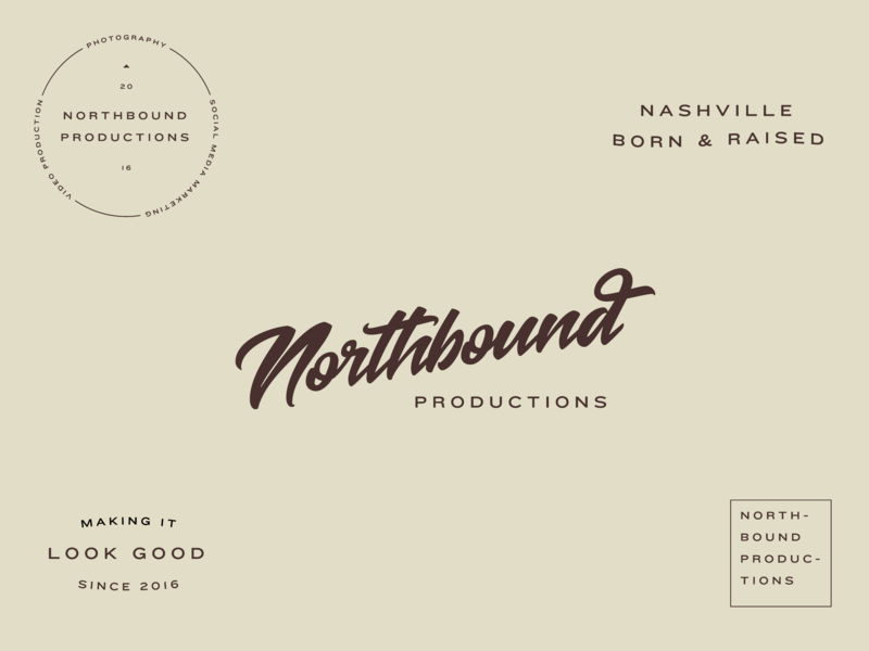 Northbound Productions video productions nashville script logo
