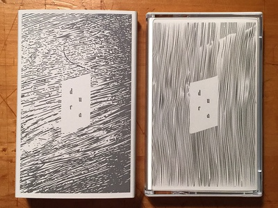 Dura Cassette Layout tape packaging norelco drone cassette ambient