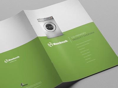 Huebsch Product Brochure art direction print brochure