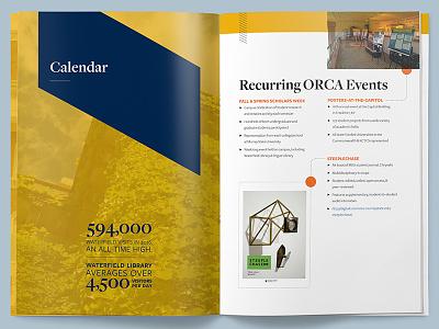 Murray State Interior Spread university brochure report annual