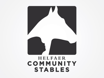 MKE Community Stables stables milwaukee police equestrian horse branding logo