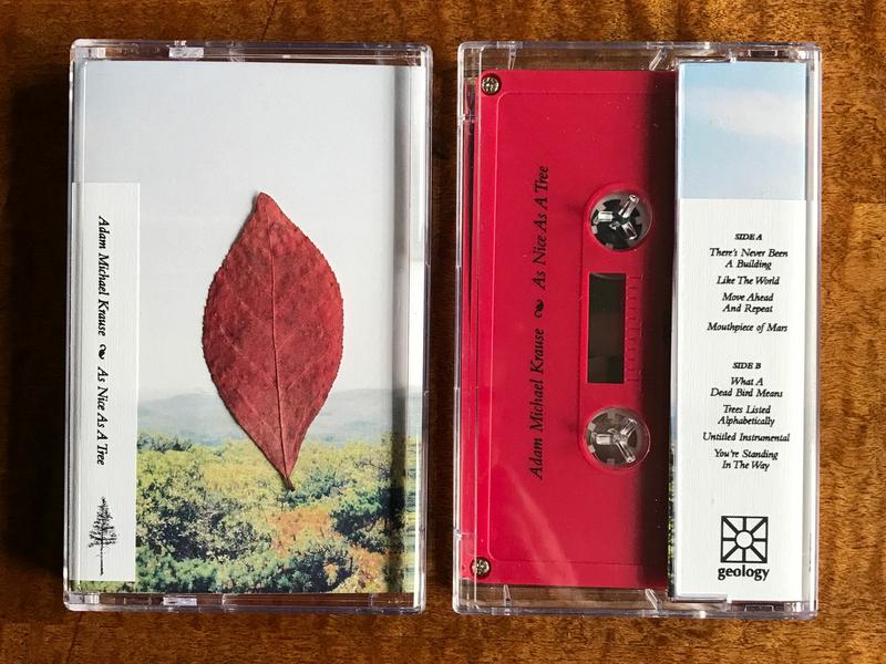 Adam Michael Krause Cassette Layout