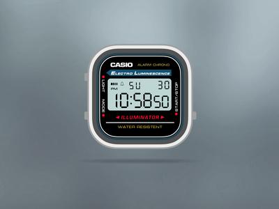 Casio Gray App-Watch
