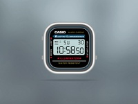 Casio Gray App-Watch