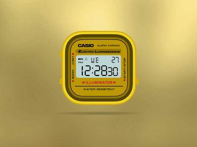Casio Gold App-Watch