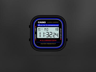 Casio Black App-Watch