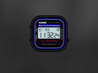 Casio Black App-Watch