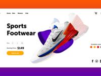 Sports Redesign- Adobe XD