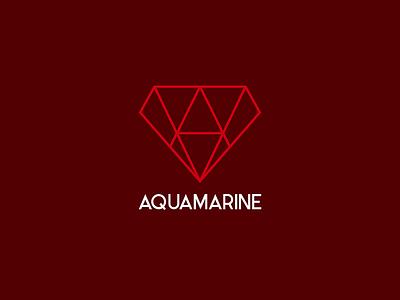 Aquamarine graphicdesign vector mark symbol illustrator store jewellery branding logotype logo aquamarine