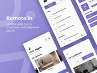 Remote.in - Smart Home App
